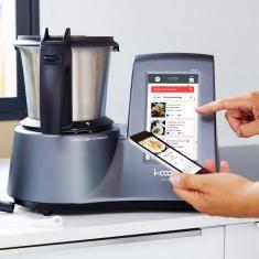 Robot de cuisine connecté i-Cook'in