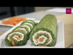 Roulé aux épinards saumon et Boursin®
