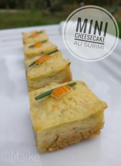 Retrouvez la recette en pas à pas sur le CLUB Guy Demarle:<br /> <br /> https://www.guydemarle.com/recettes/mini-cheesecakes-au-surimi-20602