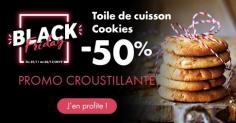 -50% sur la toile de cuisson Cookies