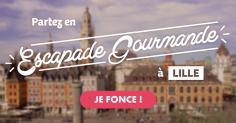 Tentez de gagner une Escapade Gourmande à Lille !
