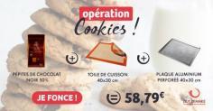 """Le kit cookies """"faits-maison"""""""