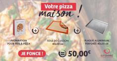 """Le kit pizza """"faite-maison"""""""