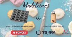 """Le kit madeleines """"faites-maison"""""""
