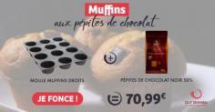 """Le kit muffins aux pépites de chocolat """"faits-maison"""""""