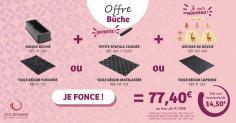 L'offre catalogue - Bûche FLEXIPAN® Inspiration