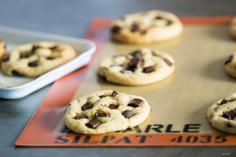 Cookies géants chocolat, vegan, sans lait, sans œufs, sans beurre