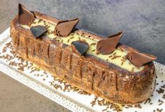 Cake savarin banane choco