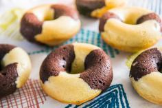 Marbrés chocolat vanille façon Doonuts de Michel
