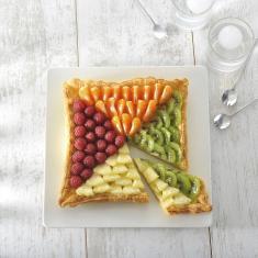 Moule tarte carrée cannelé FLEXIPAN® ORIGINE