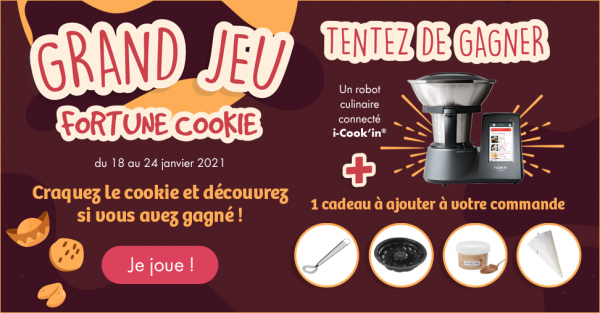 Le grand jeu Fortune Cookie sur la boutique
